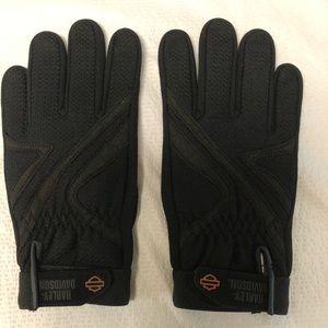 NWOT Harley Davidson Leather/poly/nylon gloves